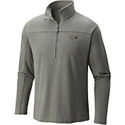 Mountain Hardwear Men's MicroChill Zip T Half Zip Fleece Pullover