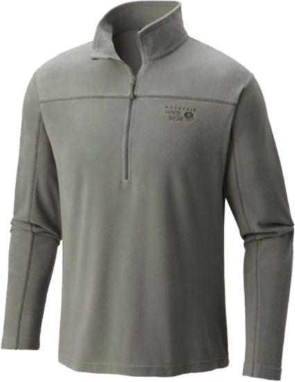 Mountain Hardwear Men's MicroChill Zip T Half Zip Fleece Pullover