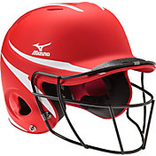 Mizuno S/M MVP Batting Helmet w/ Fastpitch Mask