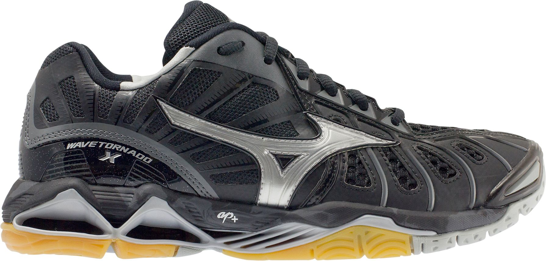 mizuno womens volleyball shoes size 8 x 3 foot wide high resolution