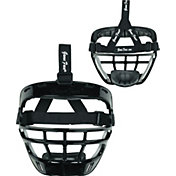 Markwort Game Face Black Softball Safety Face Guard - Large