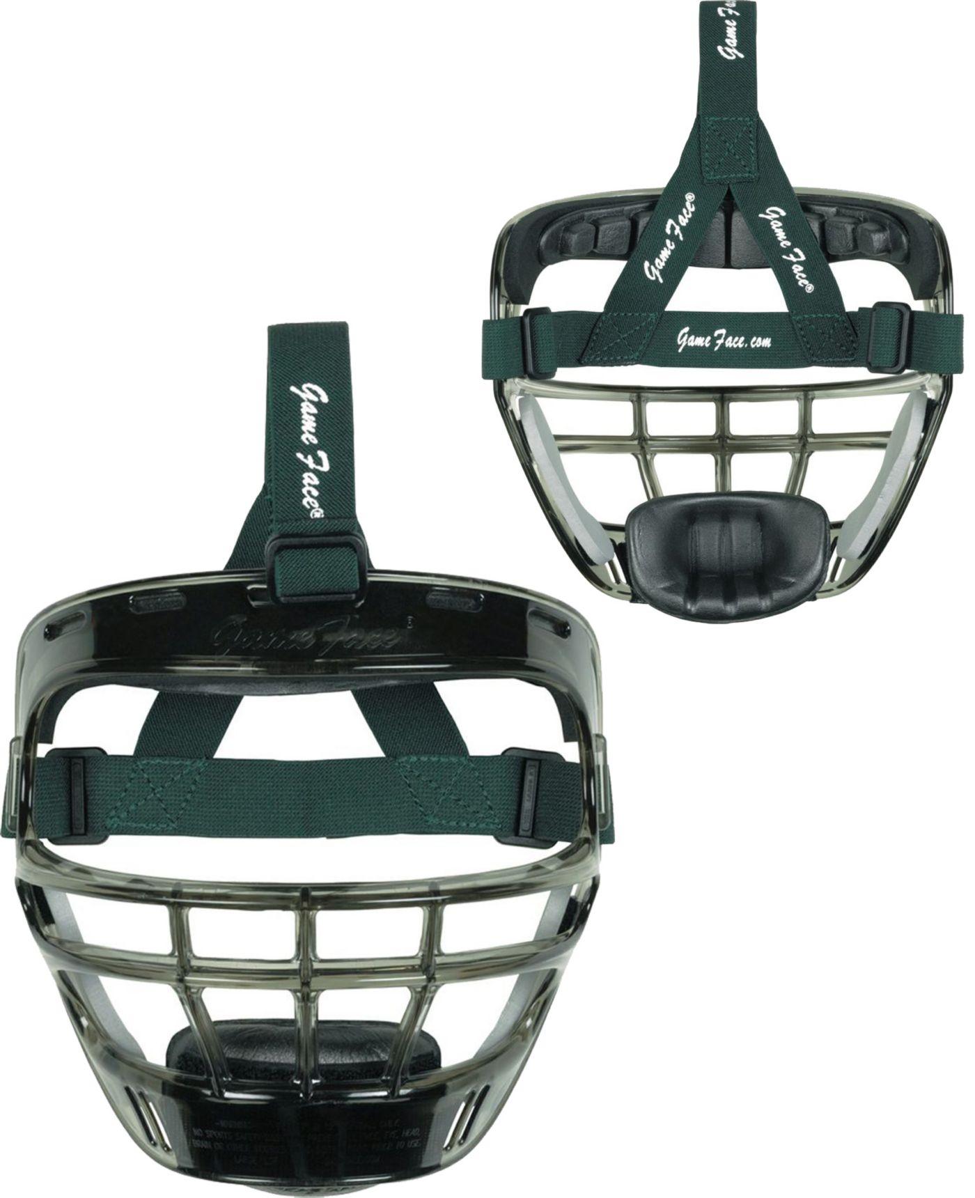 Markwort Game Face Smoke Softball Safety Face Guard - Large