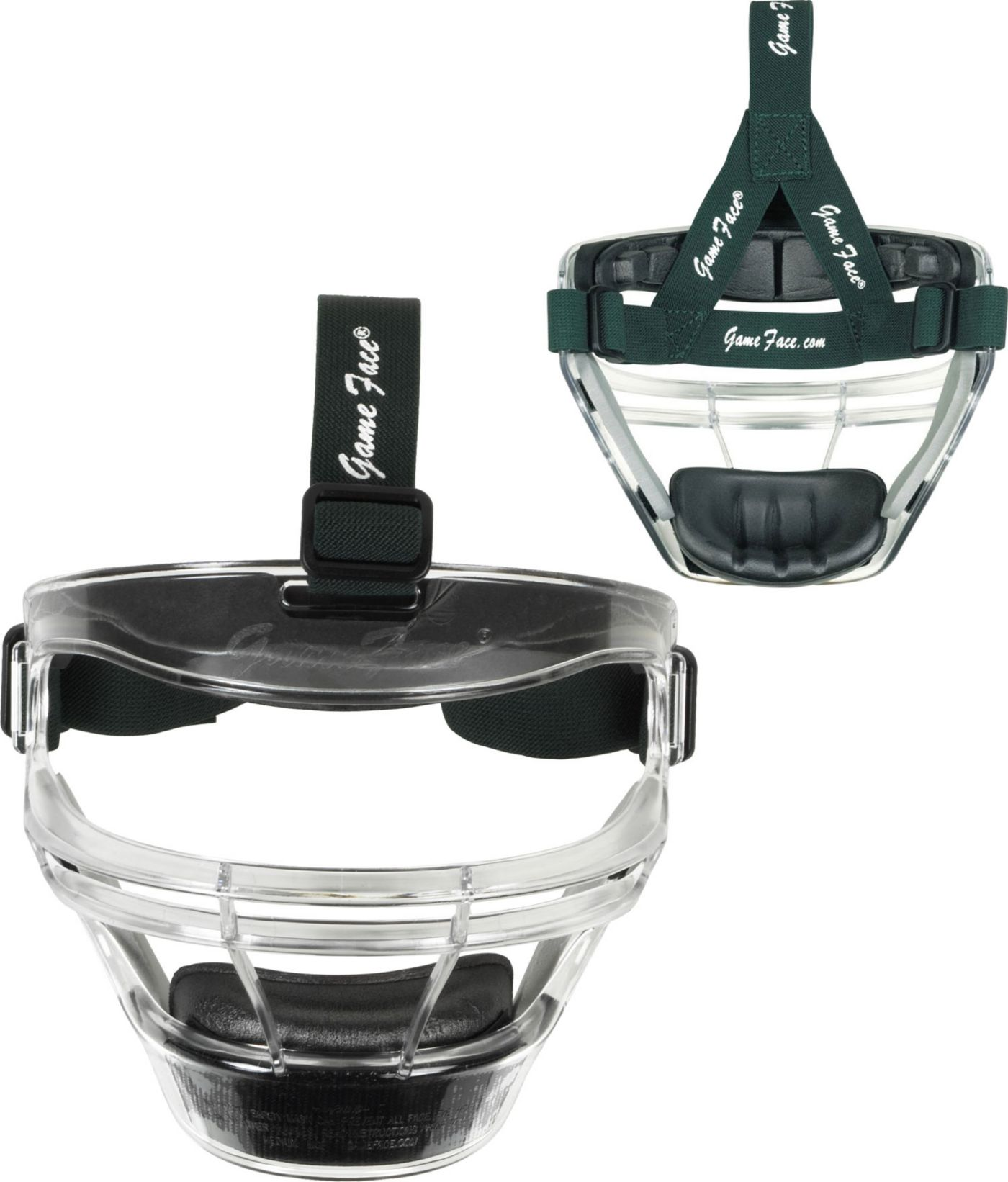 Markwort Game Face Clear Softball Safety Face Guard - Medium