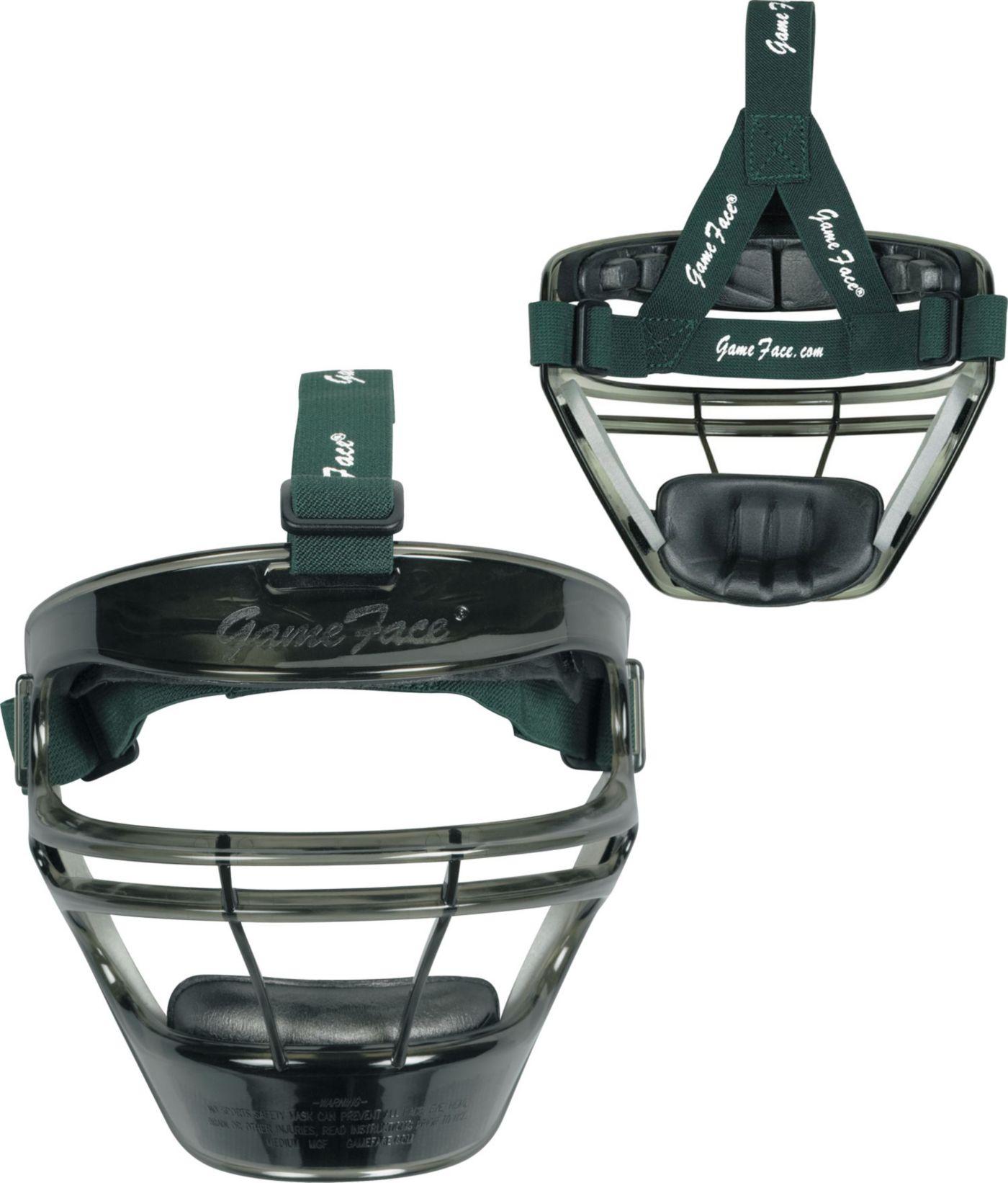 Markwort Game Face Smoke Softball Safety Face Guard - Medium