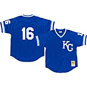Mitchell & Ness Men's Replica Kansas City Royals Bo Jackson Royal Cooperstown Batting Practice Jersey