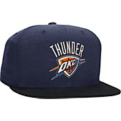 Mitchell & Ness Men's Oklahoma City Thunder Heather Profile Navy Fitted Hat