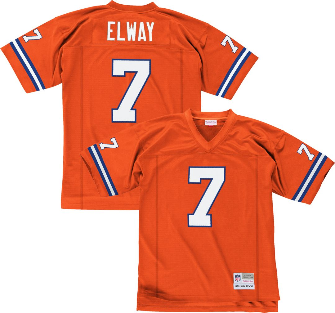 reputable site 2c2b3 a56c2 Mitchell & Ness Men's 1998 Alternate Game Jersey Denver Broncos John Elway  #7