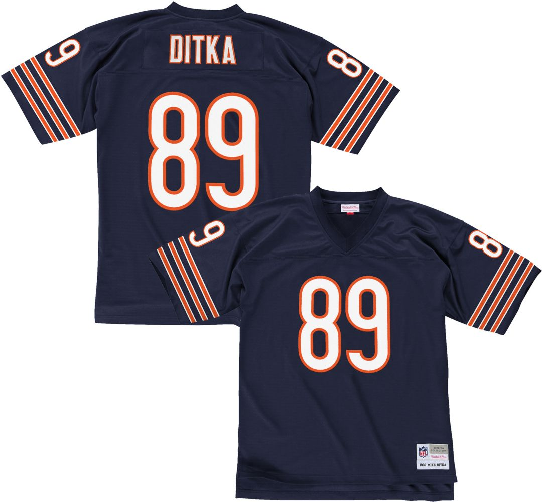 best sneakers 50242 d5b43 Mitchell & Ness Men's 1966 Home Game Jersey Chicago Bears Mike Ditka #89