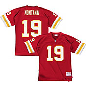 Mitchell & Ness Men's 1994 Home Game Jersey Kansas City Chiefs Joe Montana #19