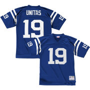 Mitchell & Ness Men's 1967 Home Game Jersey Indianapolis Colts Johnny Unitas #19