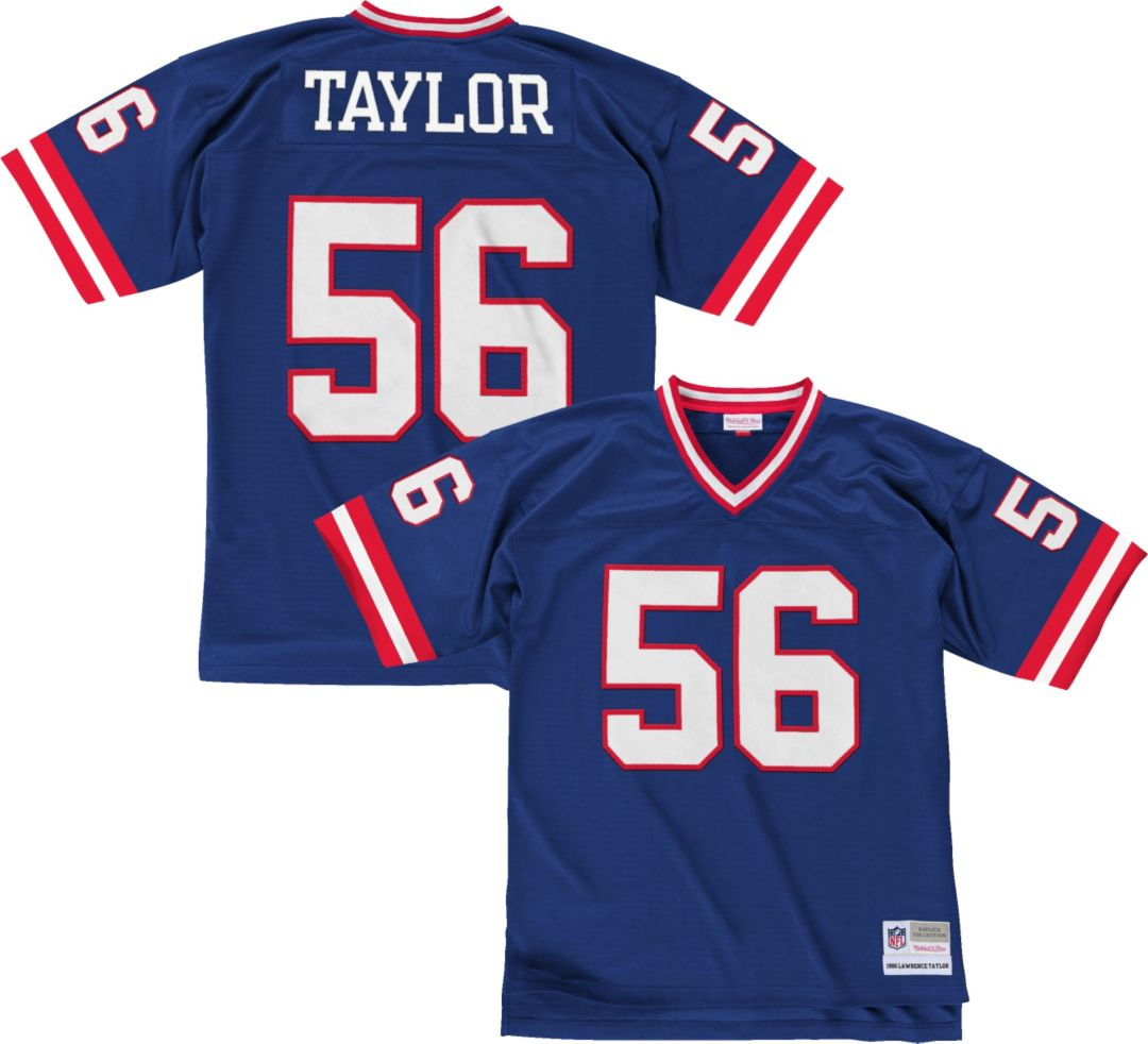 separation shoes 702a8 554e2 Mitchell & Ness Men's 1986 Home Game Jersey New York Giants Lawrence Taylor  #56