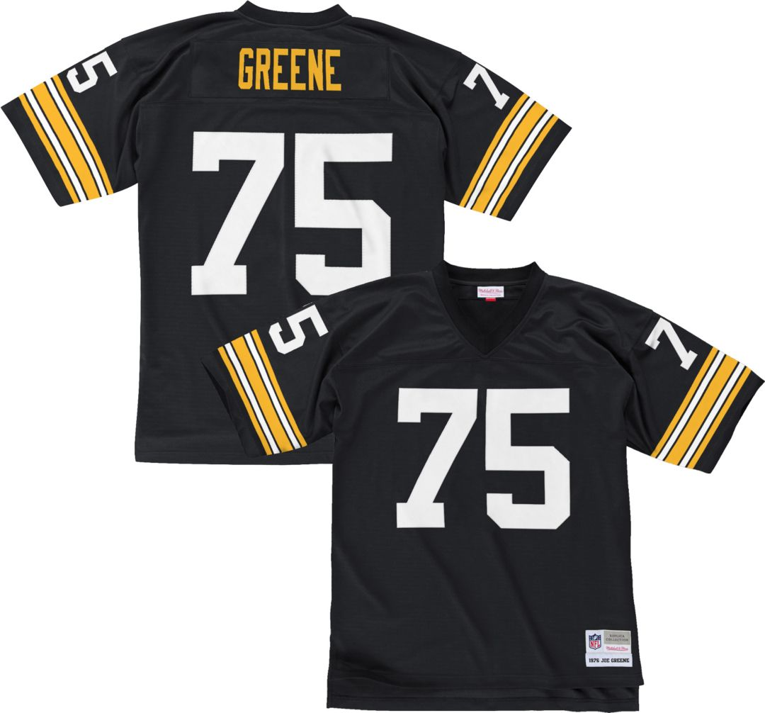 pretty nice d1b9a 7fe69 Mitchell & Ness Men's 1976 Home Game Jersey Pittsburgh Steelers Joe Greene  #75