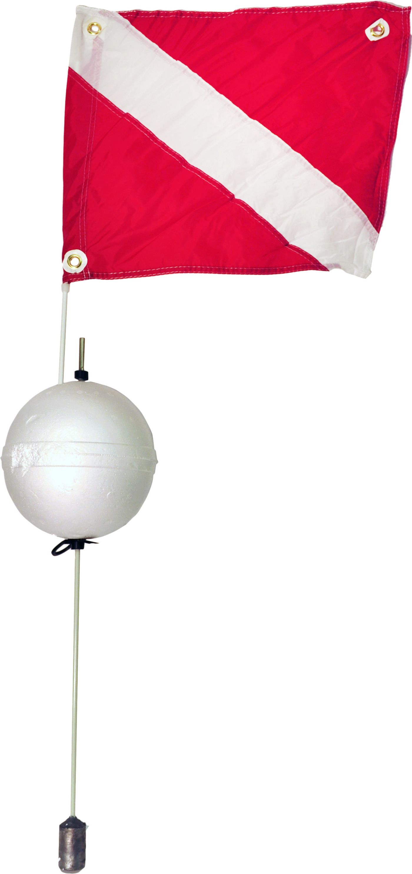 Marine Sports 2-Piece Ball Float with Flag