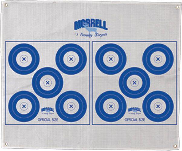 Morrell 5-Spot Archery Target Face