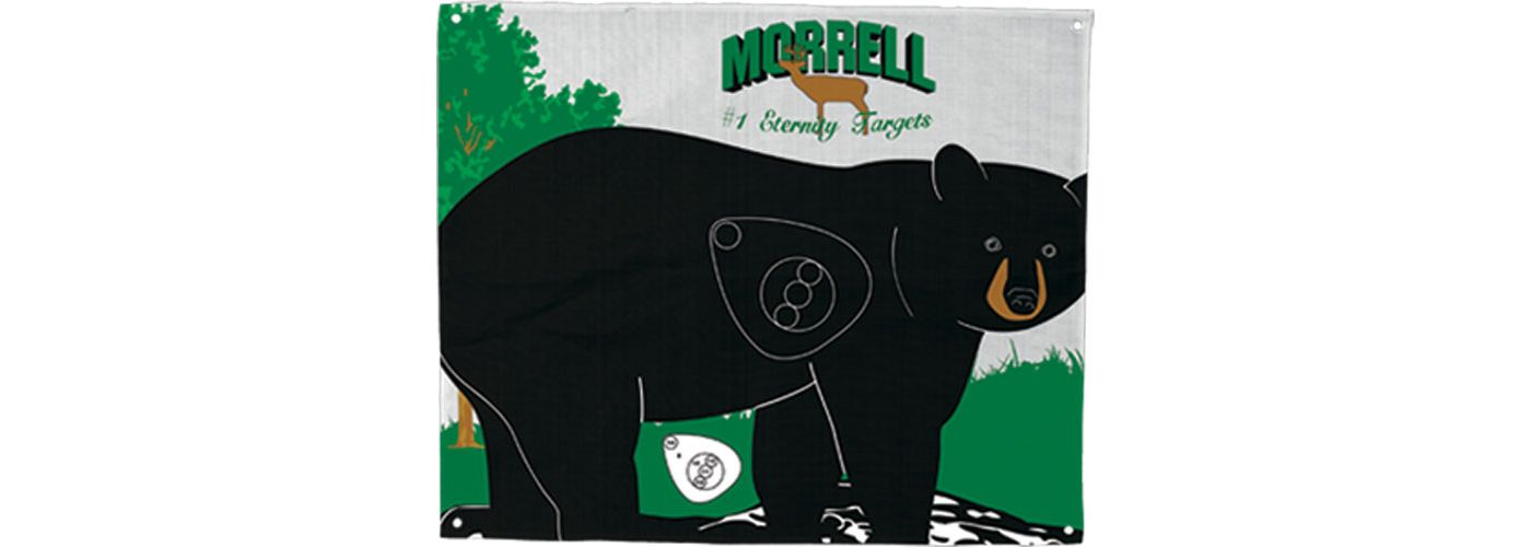 Morrell Walking Bear Archery Target Face