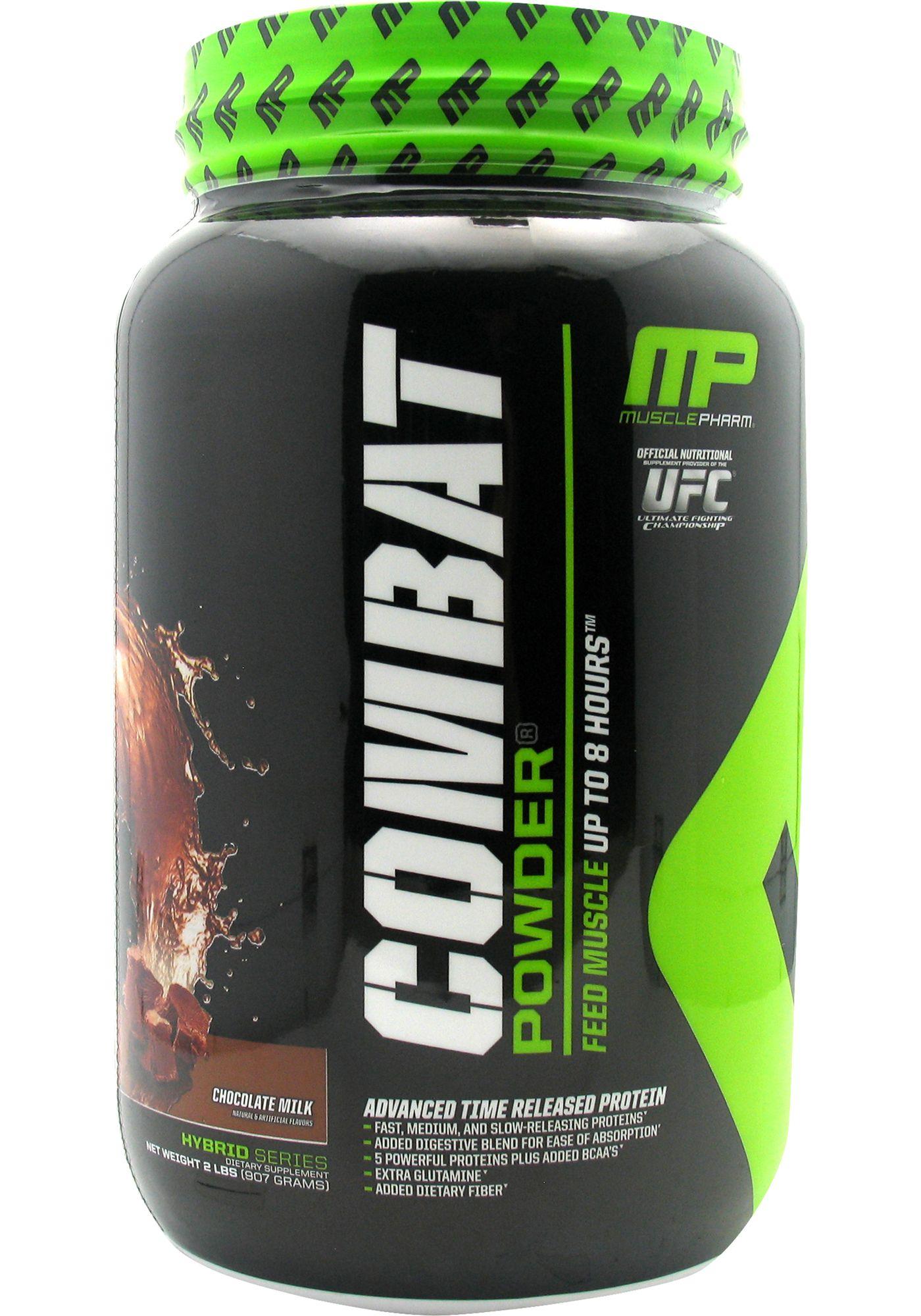Muscle Pharm Combat Protein Powder Chocolate Milk 2 lbs