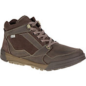 Merrell Men's Berner Lace Mid Waterproof Hiking Boots