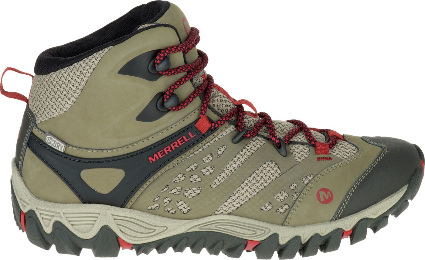Merrell Women's All Out Blaze Vent Mid Waterproof Hiking Boots