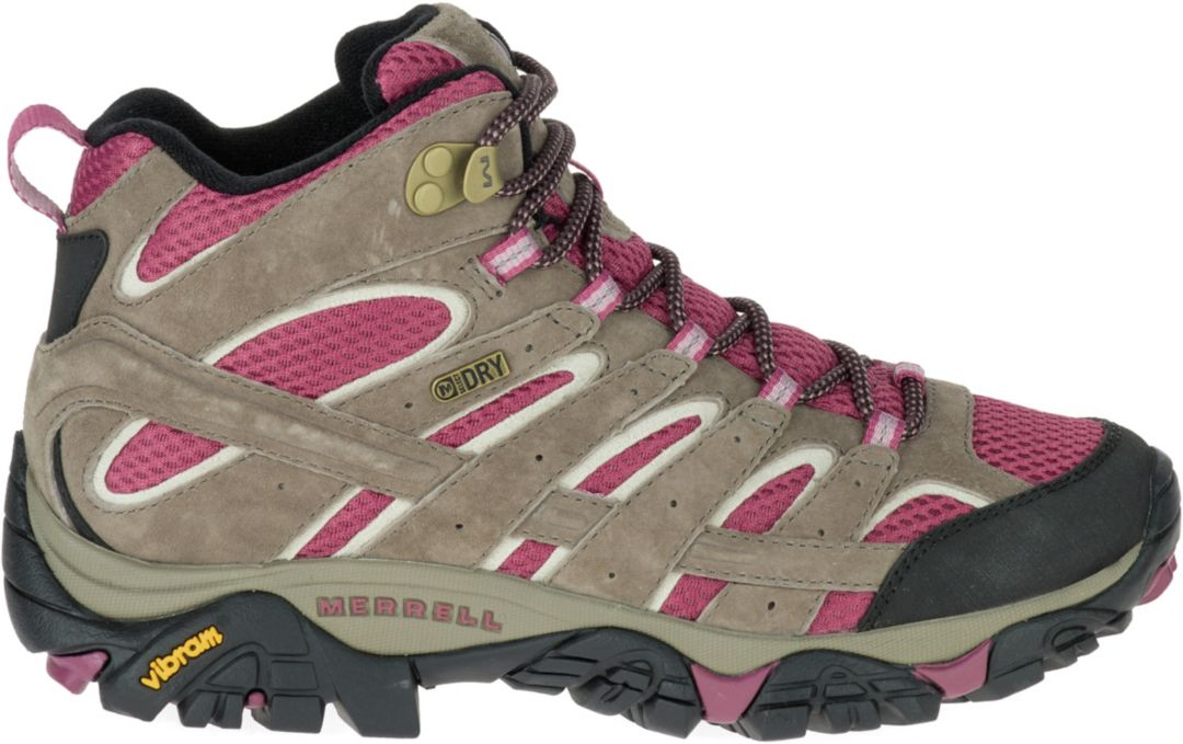 ced7bf58073 Merrell Women's Moab 2 Mid Waterproof Hiking Boots