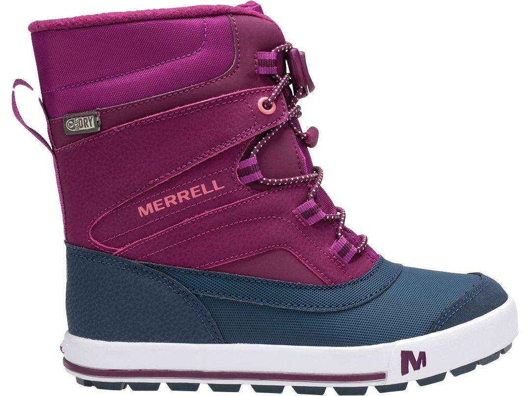 143ec50fc7 Merrell Kids' Snowbank 2.0 Insulated Waterproof Winter Boots