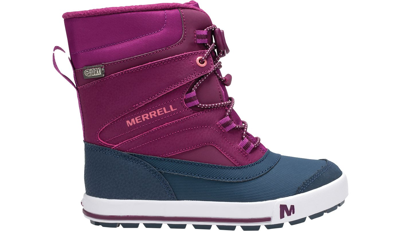 Merrell Kids' Snowbank 2.0 Insulated Waterproof Winter Boots