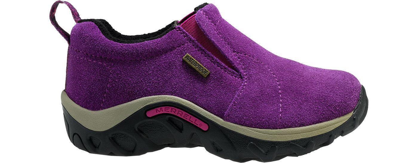 Merrell Kids' Jungle Moc Frosty Waterproof Casual Shoes
