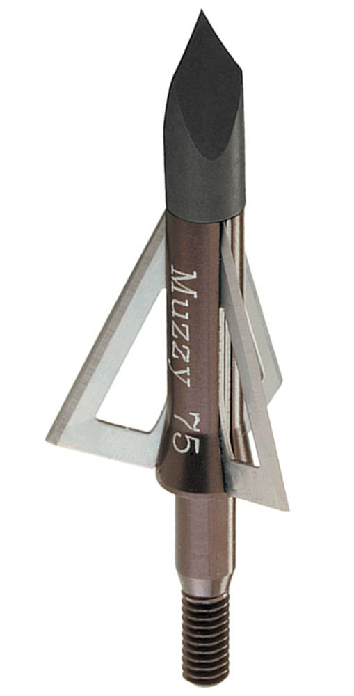 Muzzy 3-Blade Fixed Broadheads - 75 GR, 6 Pack, Adult Unisex, Size: One size thumbnail