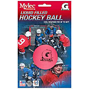 Mylec Pink Cool Weather Liquid Filled G Force Street Hockey Balls - 4 Pack