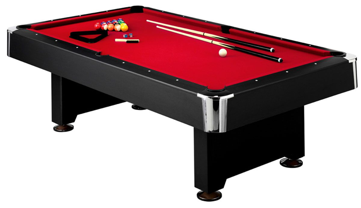 Mizerak Donovan II Slatron FT Pool Table DICKS Sporting Goods - Billiard table and accessories