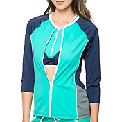 Nautica Women's Off the Blocks Swim Shirt