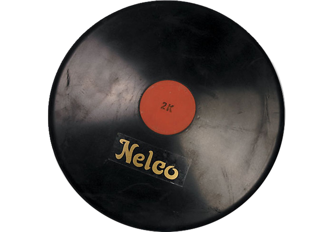 Nelco 1.6K Official Black Rubber Discus