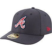 New Era Men's Atlanta Braves 59Fifty Diamond Era Navy Low Crown Fitted Hat