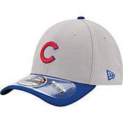 New Era Men's Chicago Cubs 39Thirty Diamond Era Grey Stretch Fit Hat