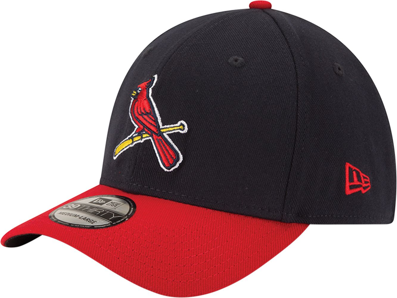free shipping 97eab 0c502 ... usa new era mens st. louis cardinals 39thirty alternate classic navy  stretch fit hat e906f