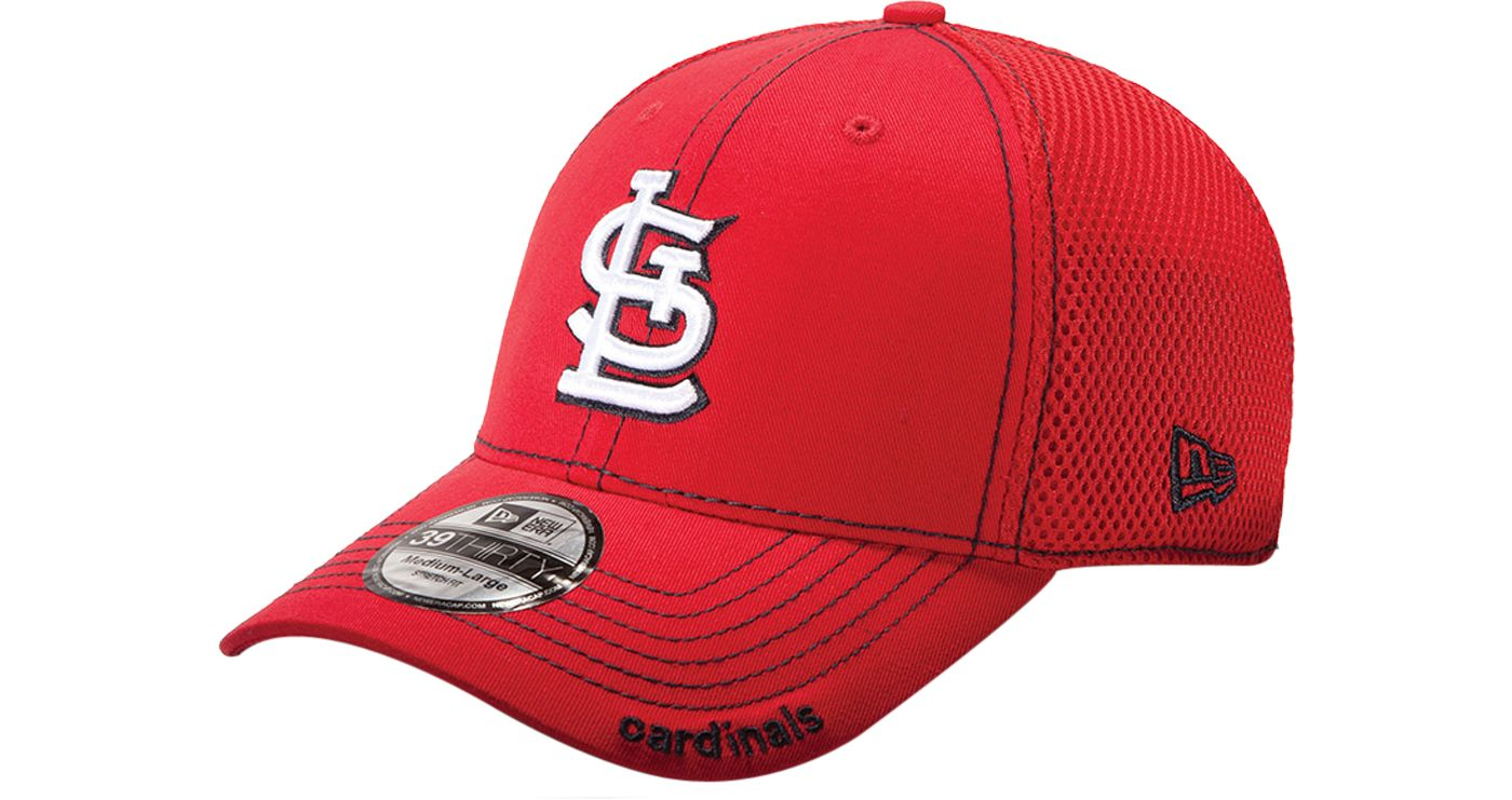 New Era Men's St. Louis Cardinals 39Thirty Neo Red Stretch Fit Hat