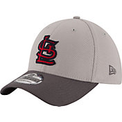 New Era Men's St. Louis Cardinals 39Thirty Diamond Era Grey Stretch Fit Hat