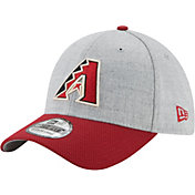 New Era Men's Arizona Diamondbacks 39Thirty Change Up Redux Grey Stretch Fit Hat