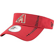New Era Men's Arizona Diamondbacks Red Adjustable Speed Visor