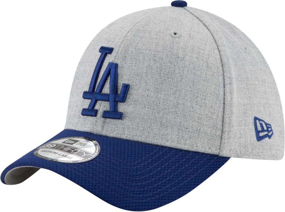 1c04ce43 New Era Men's Los Angeles Dodgers 39Thirty Change Up Redux Grey Stretch Fit  Hat