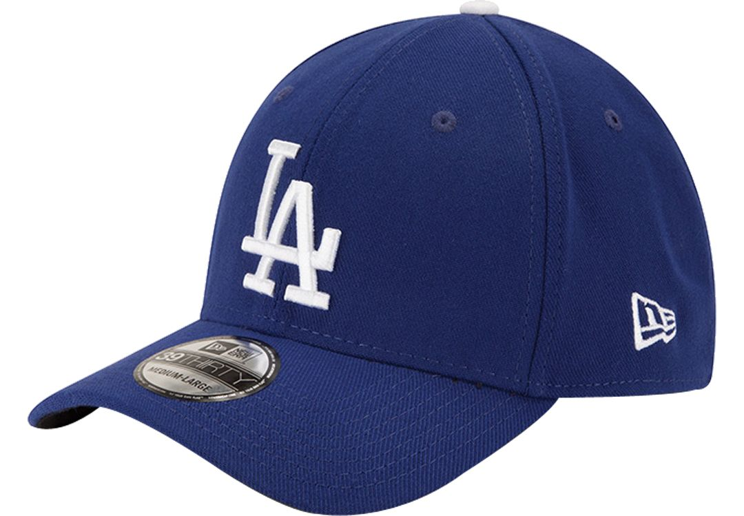 04143664 New Era Men's Los Angeles Dodgers 39Thirty Classic Royal Stretch Fit Hat