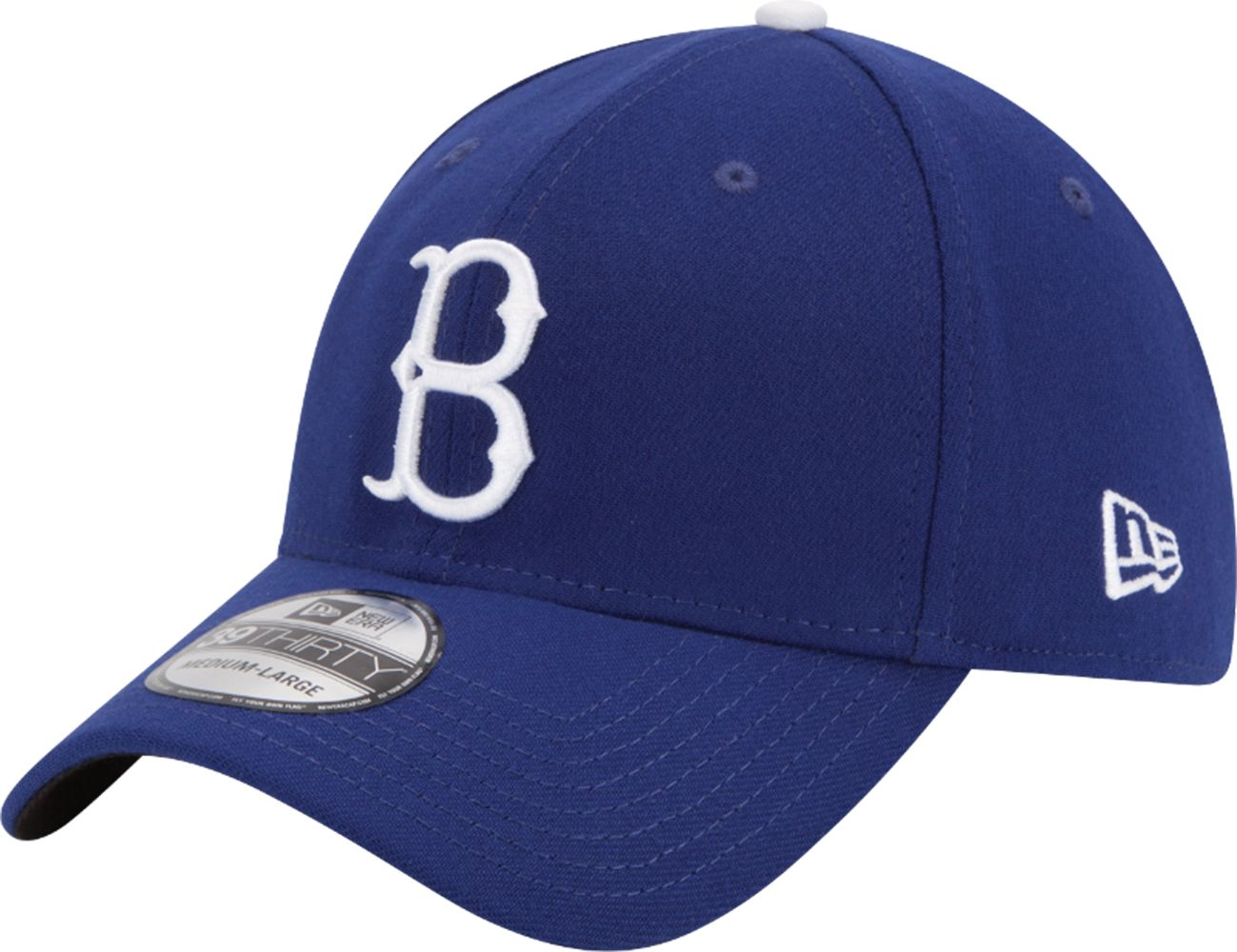 low priced 088ec 58b59 ... discount code for new era mens brooklyn dodgers 39thirty classic royal  stretch fit hat 61204 9f79d