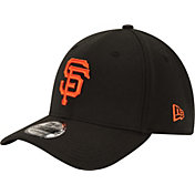 New Era Men's San Francisco Giants 39Thirty Classic Black Stretch Fit Hat