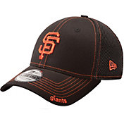 New Era Men's San Francisco Giants 39Thirty Neo Black Stretch Fit Hat