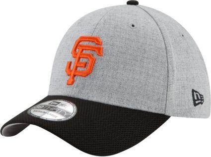 fa03c00995457c New Era Men's San Francisco Giants 39Thirty Change Up Redux Grey Stretch  Fit Hat