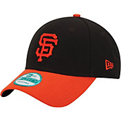 New Era Men's San Francisco Giants 9Forty Black Adjustable Hat