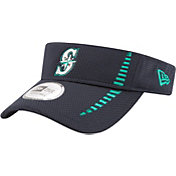 New Era Men's Seattle Mariners Navy Adjustable Speed Visor
