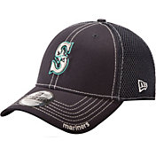 New Era Men's Seattle Mariners 39Thirty Neo Navy Stretch Fit Hat