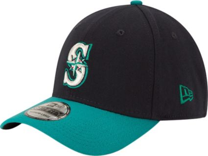 New Era Men s Seattle Mariners 39Thirty Alternate Classic Navy Stretch Fit  Hat 2fac6c519e2