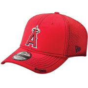 New Era Men's Los Angeles Angels 39Thirty Red Neo Stretch Fit Hat