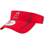 New Era Men's Los Angeles Angels Red Adjustable Speed Visor